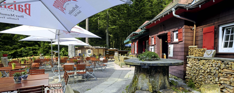 Waldcafe, Teuchelwald, Freudenstadt, Terrasse